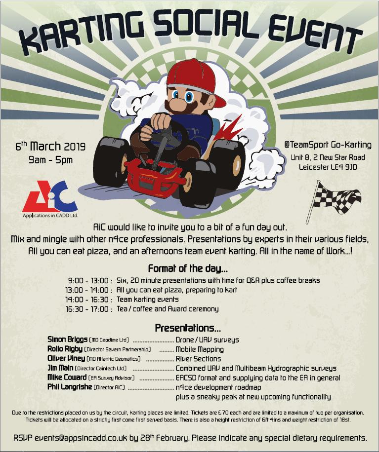 Karting social event