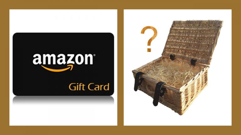 Amazon gift card reward