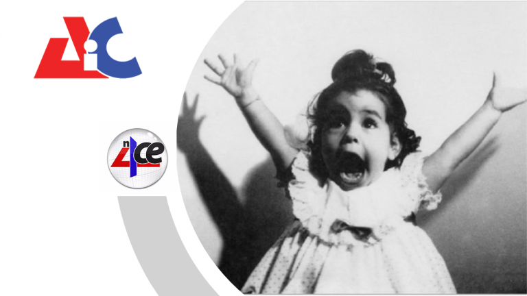 excited girl with n4ce logo