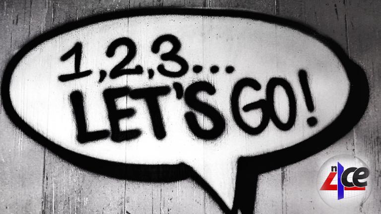 123 Let's Go & n4ce logo